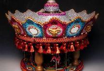 sculptural cinerary urns / soulmilk spirithouses | sculptural cinerary urns for ashes by Sylvia Sienikehä Pearlman, holistic therapist & death doula | soulmilkhealingarts.com/urns--art #cinerary #urns #soulmilk #spirithouses