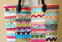 Quilted Tote Bags / by Ann Spenrath