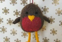 Woolly Christmas decorations