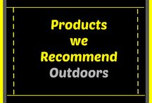 Cleaning Products we Recommend (Outdoors) / Cleaning products that we've used that we believe work fantastic for any outdoor cleaning projects.