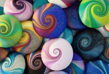 sassi colorati