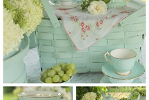 Home Decorating Ideas / cottage look / by Sharon Newton