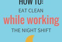 Night shift diet