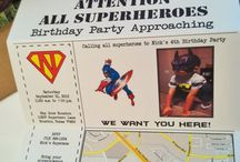 Supper hero party