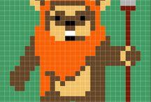 ewok star wars pixel