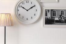 Kellot / Olohuoneemme kaipaa uutta kelloa...