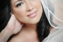 Airbrush Makeup / Brides with airbrush makeup.