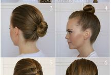 Easy hairstyles / Running late? Why don't you try these easy hairstyles that look fab and quick to do