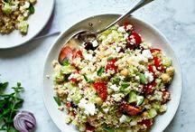 Kuchařka - Saláty a Přílohy