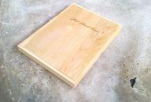 Doosje Deksel / Op maat gemaakt houten doosje met deksel voor het boek 'het Slachthuis'