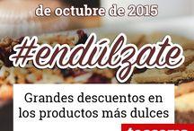 #endúlzate con Tescoma / Grandes descuentos en los productos más dulces en la tienda online de Tescoma desde el 1 al 31 de octubre de 2015