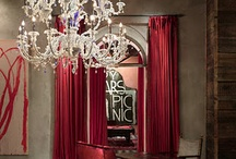 Chandeliers are the new black. / by Amy Meins