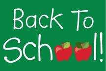 Back To School / Fun fashion & products for kids, teens, college students, and teachers for back to school!