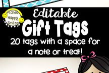 Team Gift Ideas / Lots of ideas for gift ideas for you teammates!