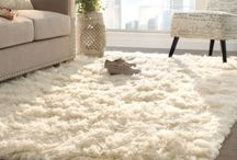 Designing with Rugs / From layering to hanging on walls, there is a lot you can do with rugs to add charm to your space. Check out ideas to decorate with rugs.