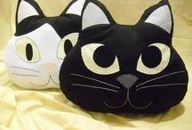 mačka dekor