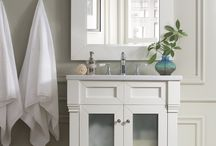 """Weston Collection / James Martin's Weston series is a cousin to our classic Brookfield Series. Weston directly caters to the requests of out clients for taller vanity cabinets. These lofty cabinets stand 37 inches high, measuring from the floor to the top edge of the married 3cm countertops. Depth for this series has been reduced to 22"""" for bathrooms with door opening access challenges."""
