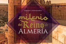 Milenio del Reino de Almería / En este tablero recopilaremos las imágenes y materiales que se lllevaron a cabo desde la BECREA para la celebración de dicha efeméride.