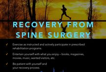 Recovery / Preparing for spine surgery can be a stressful time, but it does not have to be that way. You will likely have some questions before your procedure, and these will be answered for you so that you understand exactly what is being done and why.