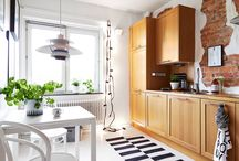 kitchens / interior design / by Olga naked.