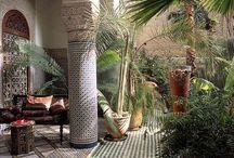 Garden design / Moroccan