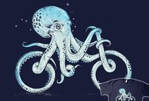 Octopus on a Bicycle / Self explanatory, yo.