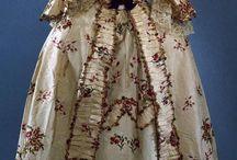 1770 - 1779 / kleding voor dames en heren van de jaren 1770 - 1779