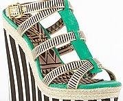 Mis zapatos  / Moda actual de calzado sandalias