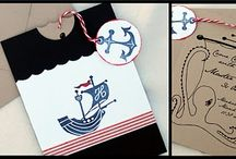 nautical / I love the ocean and things that remind me of it, especially navy and white stripes.