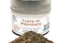 Provence Cuisine / Bringing elegance and aroma to the dishes prepared, Provence seasoning lends depth and flavor to anything across the European landscape.