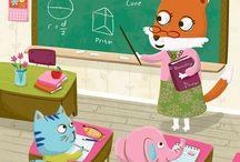 Children's Book Illustration / Inspiring Children's Book Illustrators