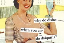 Dish Bliss / For those of you who love dishes but hate doing them.