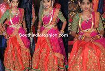 kids half saree