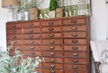 Cabinets, Apothecary and the Like