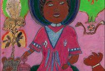 Nellie Mae Rowe art brut