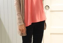coral top outfit