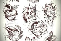 sketch Tattoos 2