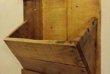 Wooden Works / Idee per lavori in legno grezzo