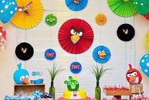 Festa Miguel Angry birds