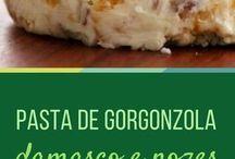 pasta de gorgonzola