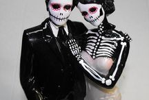 Day Of The Dead Skulls Skeletons Death Grimm Reaper and mACABRE / From jewelry to art. Everything to do with Day of The Dead Dia De Los Muetos, Skulls Skeletons Grimm Reapers Death,