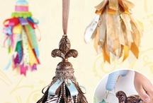 crafts-ribbon/yarn/thread / by Amy Webb