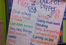 Classroom: Bucket Fillers / by Christy Rooney (MileAMinuteMama.com)