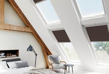 Skylight Blinds / Blinds4UK online Loft Room store has a wide selection of blinds especially designed for your skylight window.