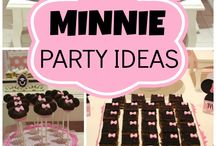 Birthday Party- Minnie Mouse Themed