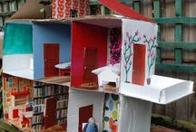 Cardboard House to make with the Kiddies! / by Wendy Morpurgo