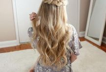 Braids and Buns / Add a medieval touch to your flirty look with romantic and equally intricate braiding! Buns is a great equivalent to braiding; just choose whether to go messy or classy! Check this board for great examples from fabulous French twist updos to classic pigtails and voluminous side braids.