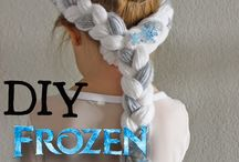 Elsa Frozen hair