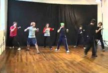 Сценический бои и фехтование видео