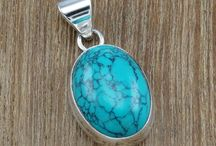 Beautiful Silver Cabochon Pendants
